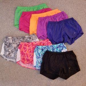 Old Navy running shorts - Lot of 9
